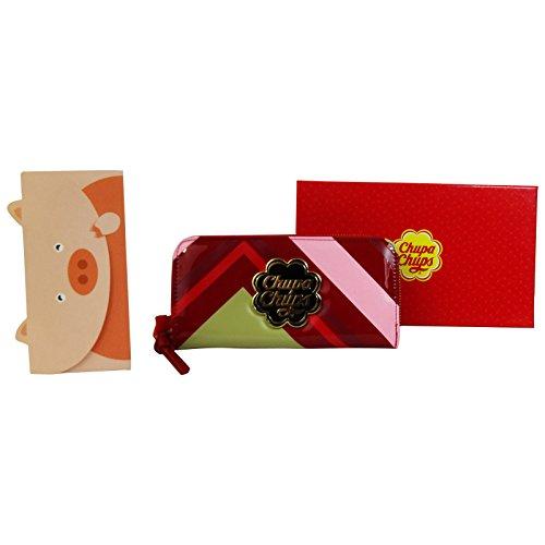 calsberg-chupa-chups-portefeuille-pour-femme-porte-monnaie-cartes-pochette-rouge