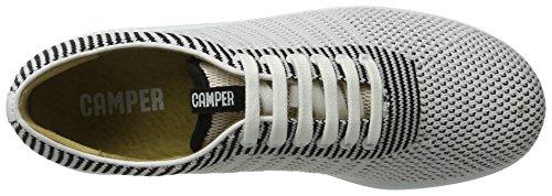 Camper Pelotas Xl, Scarpe da Ginnastica Basse Donna Bianco (White Natural 001)