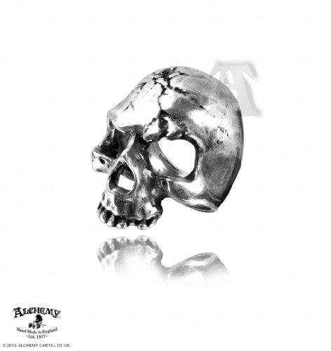 Alchemy Gothic (Metal-Wear) Ruination Schädel Ring (Alchemy Gothic Schädel Ring)