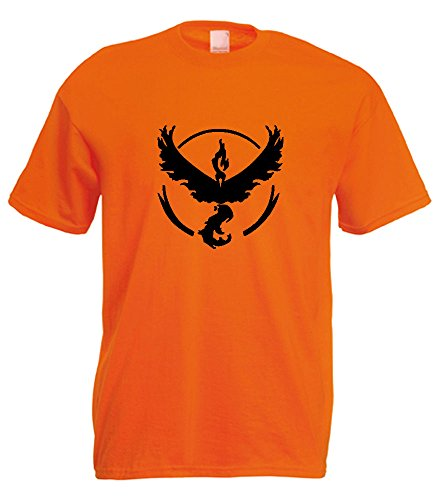 Unknown Herren T-Shirt Orange