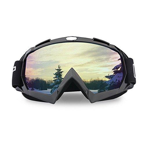 Jugend-snowboard-paket (Tourwin Motorrad Skibrille, Anti UV-Anti Scratch Staubdicht Winddicht Sicherheit Unisex Brillen Passform für Schnee Skifahren, Radfahren, Klettern, Reiten & Outdoor)