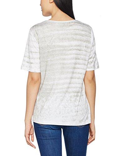 hajo Damen T-Shirts D Shirt, 1/2 Arm, Rundhals Grün (khaki 503)