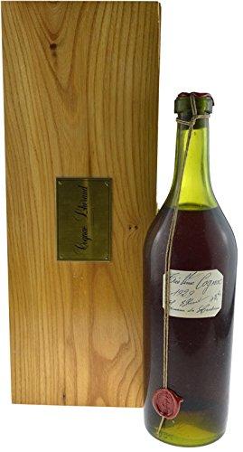 Rareté: Lheraud Cognac année 1929 Très Vieux 0.7l - Domaine de Lasdoux avec 43.8% incl. boite en bois et certificat