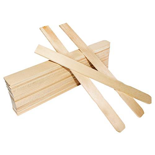 Palitos de madera 30 cm (Pack de 25) - palo natural para...
