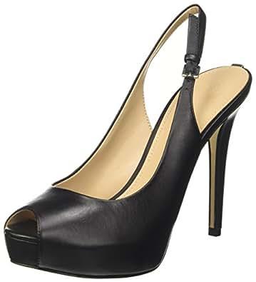 Guess Footwear Dress Sling Back, Escarpins à Plateforme Femme, (Black Black), 37 EU