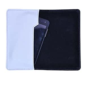 DCR Pu Leather case cover for Samsung Galaxy Alpha (white)