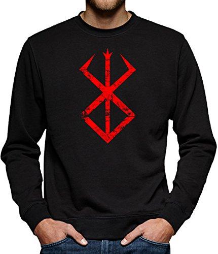 TLM Berserk Cursed Sweatshirt Pullover Herren XL - Spieler Kostüm Für Halloween Fußball