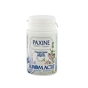 paxine capsules gorge aux huiles essentielles