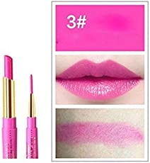CGT Professional Waterproof 2 in 1 Lipstick With Lipliner For Women Long Lasting Lipsticks That Gives Natural Beauty To Your Lips And Make It More Admirable (Pink)(Style #03)