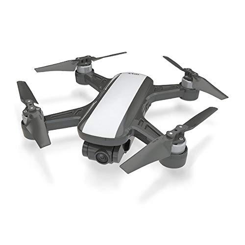 WANGKM GPS-Drohne Luftbildfotografie Hd Professionelle Lange Akkulaufzeit Brushless optischer Fluss Fernbedienung Track Surround Flugzeug Drohne,White