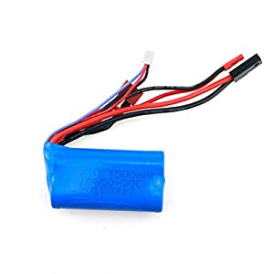 MuSheng(TM) 7.4v 1500mah 30C Lipo Battery For WLtoys 12428 WL912 MJX F45 F49 FY-03 Quadcopter Helicopter Boat Car from MuSheng