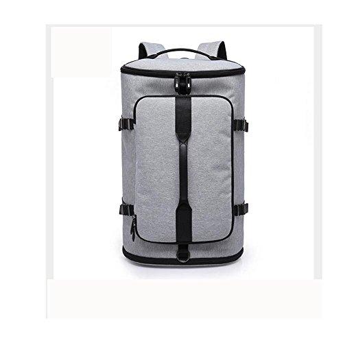 50L Schulterpolster / Hand-Outdoor Reise Rucksack Bergsteigen Tasche grey