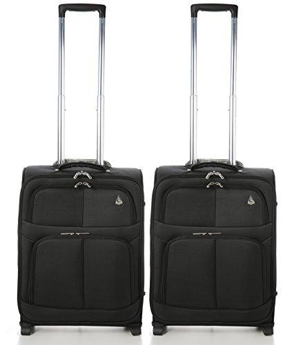 Aerolite Pack de dos maletas | Tamaño de cabina  55x40x20 42L