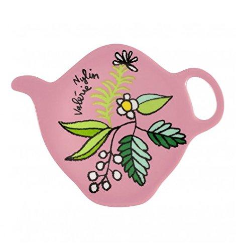 DERRIERE LA PORTE - Repose sachet de thé rose feuille DLP -