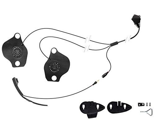 Cellularline Pro Sound Kopfhörer-Audio-Set für Helm Schuberth/Gegensprechanlage MC/XT/F5S/F5 -