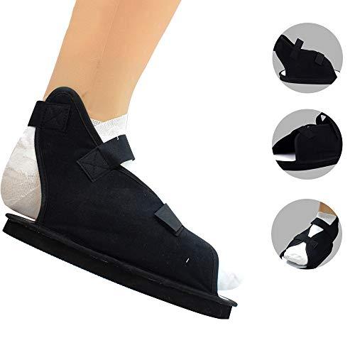 YXMxxm Calzado postoperatorio para Fractura del pie/pie Roto - Calzado para Caminar para Uso médico/quirúrgico para Hombre y Mujer con Correas Ajustables,S
