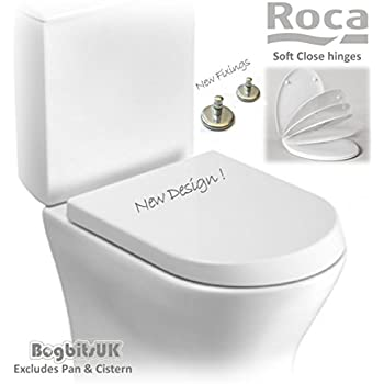 uk toilet seat sizes. Roca New Style Nexo Replacement WC Toilet Seat with Soft Closing Hinges  80164B004