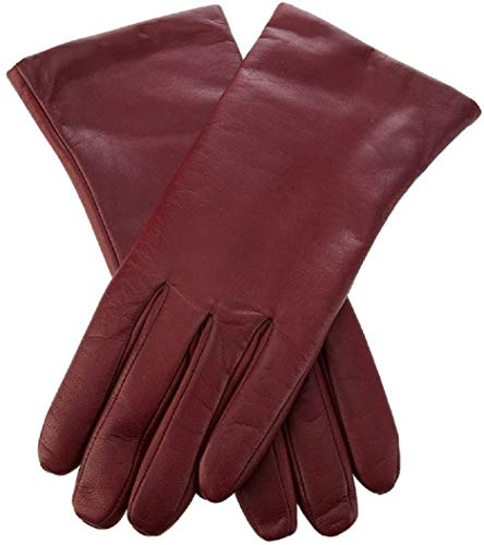 Isotoner Tote (Totes-Isotoner Women`s Leather Gloves, Cashmere-Lined, Premium Sheepskin Leather ~ Size 6.5 ~ Burgundy,)