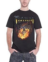 Trivium T Shirt Vengeance Falls Fireball nouveau officiel Homme Noir