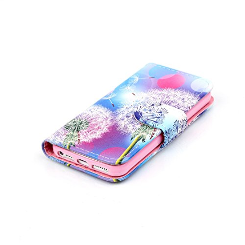 AYASHO® iPhone SE / 5s / 5 Hülle - Hohe Qualität Gemalt PU Kunst Lederhülle Tasche Hülle Kunstleder Flip Case Tasche Etui Schutzhülle für iPhone SE / iPhone 5 / iPhone 5S (A13) D10