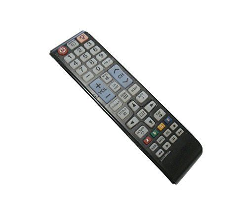 New Replacement AA59-00600A Remote Control for Samsung PN43E440A2F PN43E450A1F T27B350ND T28D310NH PN51E440A2F PN51E450A1F HD TV LCD LED