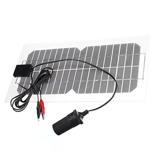 Accesorios para Arduino, reemplazar piezas viejas / rotas.Montaje a nuevo módulo funcional.caracteristicas:Panel Solar Monocristalino TransparenteEnergía al aire libre de Sun Engergy para el cargador de bateríaMaterial: MonocristalinoPotencia: 5.5WVo...