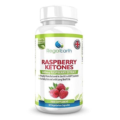 Raspberry Ketone Weight Loss Fett verbrennen Kapseln 600 mg Max Kraft pur Diät-Pillen für Männer (Perdita Di Grasso)