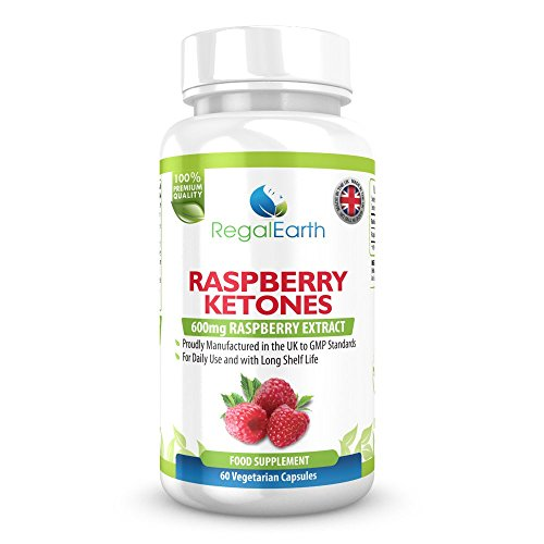 Raspberry Ketones Weight Loss Burn Fat Capsules 600mg Max Strength Pure Diet Pills For Men & Women - Alternative for Garcinia Cambogia - Promotes Healthy Digestive System - Natural Appetite Suppressant - Prevents Weight Gain - Fat Burner - Excellent Results When Combined With a Fitness Program or Cleanse Plus pills - Money Back Guarantee - 60 Vegetarian Capsules - MADE in The UK Test