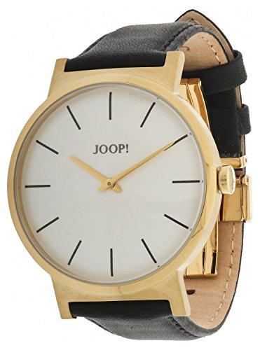 Joop! - JP100841F04U - Montre Homme - Quartz - Analogique - Bracelet cuir doré