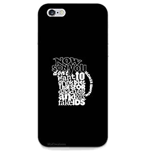 MiiCreations Back Cover for Apple Iphone 6,Beer Glass