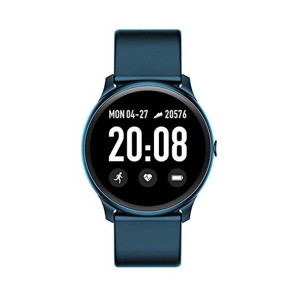 Naack Reloj Inteligente Pulsera Monitor de frecuencia cardíaca smartwatch Monitor De Ritmo Cardíaco Mujeres Hombres… 3