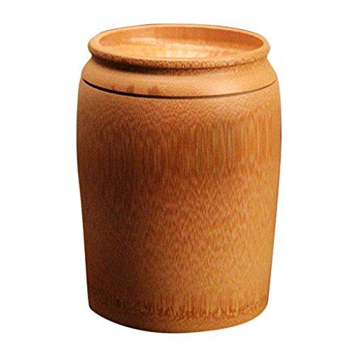 Baoblaze Bambus Kaffeedose Bambusbehälter Aufbewahrungsbox - typ 2 L