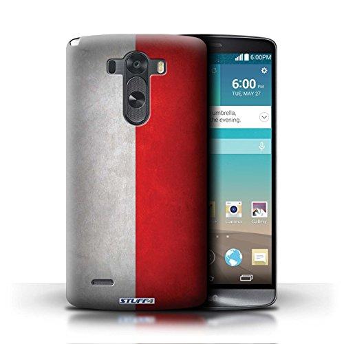Kobalt® Imprimé Etui / Coque pour LG G3/D850/D855 / Italie/italien conception / Série Drapeau Pologne/polonais