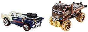 Hot Wheels - Pack Coches Star Wars Chewbaca (Mattel CGX03)