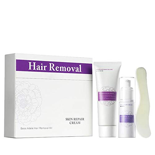 Haarentfernung Creme Set Sugaring Zuckerpaste Haarentfernung Creme Semi-permanente Achselhöhle Körper Haar Enthaarungswachs