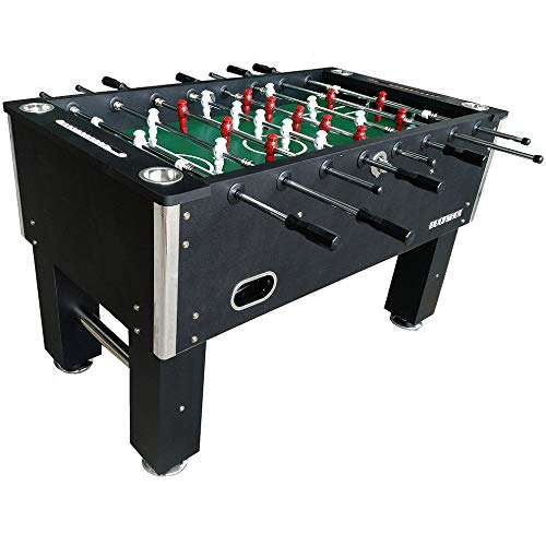 BuckShot Table football Master League Soccer table with 2 balls, 36 MDF cabinet,Foosball Table with Adjustable leg levelers and reinforced hollow rods