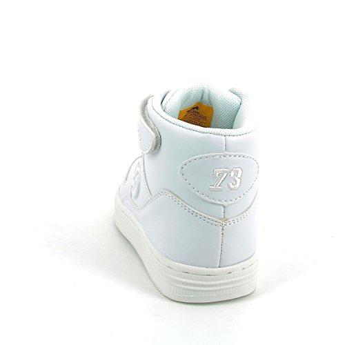 Dockers by Gerli Unisex-Kinder 38di605-610500 High-Top Weiß