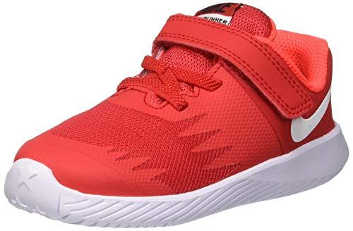 Nike Unisex Baby Star Runner (TDV) Hausschuhe, Mehrfarbig (University Red/White/Black 601), 21 EU