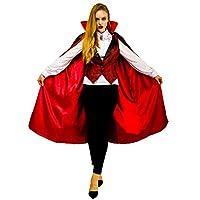PGOND Women's Vampire Princess Cape Costume Red