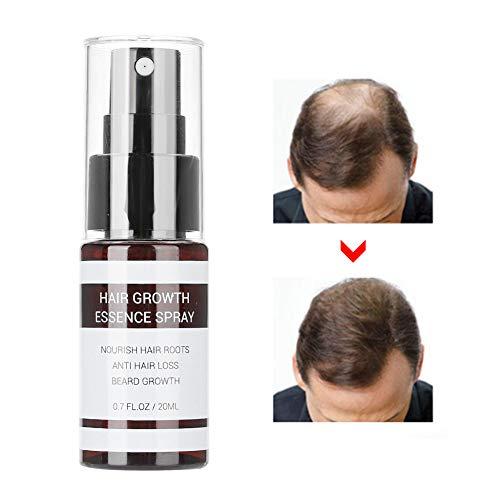 Semme Hair Growth Essence Spray, Trattamento anti-perdita di capelli Essenza Nutriente Enhancing Hair Roots Ricrescita Essence Treatment Women and Men