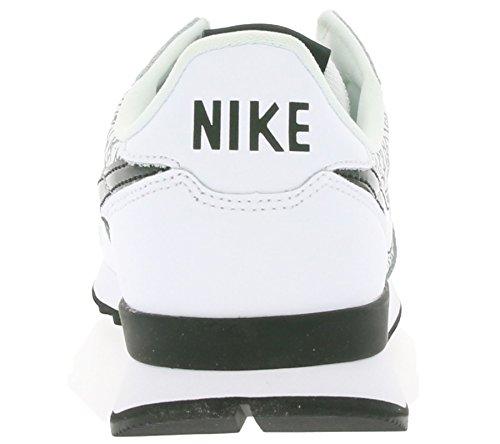 Nike W Internationalist Print, Scarpe da Corsa Donna Bianco (White / White-Black) (bianco-nero)
