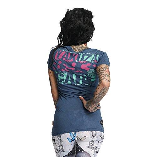 Yakuza Donna Maglieria/T-Shirt Care Blu