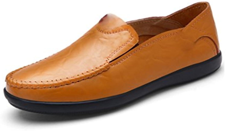 Zapatos Casuales para Hombres Zapatos De Negocios Primavera Verano Otoño Invierno Hembra Bajo Cabeza Verde Talón