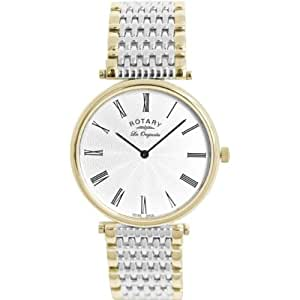 Rotary GB90001-01 Mens Les Originales Two Tone Watch