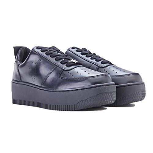 Windsor Smith Damen RACERR Sneaker Nero (Leather Black)