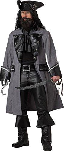 Generique - Dunkles Piratenkostüm für Erwachsene M - Blackbeard Kostüm Für Erwachsene