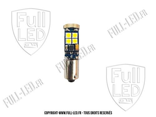 Ampoule Led h21w bay9s Blanc Pur - CANBUS Anti Erreur - Feux de Recul