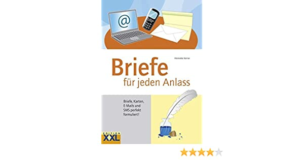 Briefe Für Jeden Anlass Briefe Karten E Mails Und Sms Perfekt