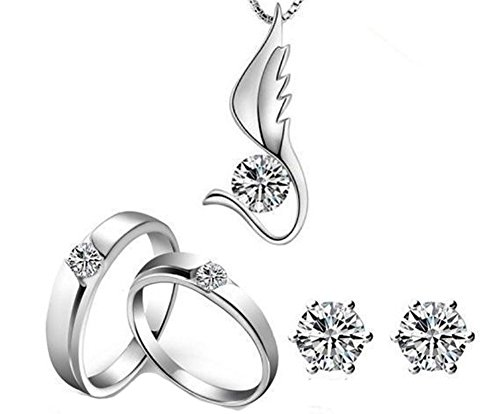 saysure-silver-plated-wedding-jewelry-sets-with-crystal-2-rings