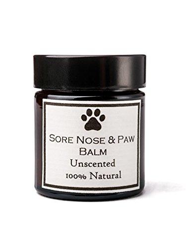 Clovelly Soap | Balsam Hunde Aller Rassen ohne Parfüm | Beruhigt Pfoten, Trüffel und Füße | Gegen trockene Haut und Juckreiz | 30 G Glas | 100% natürliche Produkte - Parfum Balsam
